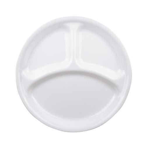 【クーポンあり】【送料無料】CP-8914 コレール ウインターフロストホワイト ランチ皿(大) J310-N 5枚セット/料理を引き立てるシンプルなホワイトの食器。