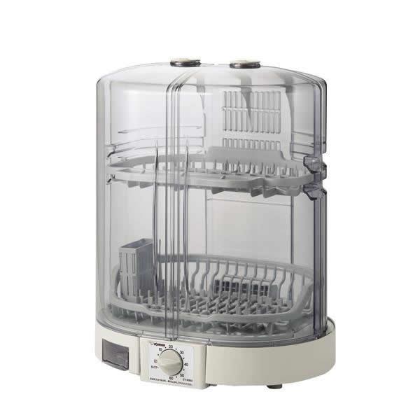 【クーポンあり】【送料無料】象印 食器乾燥器 EY-KB50 グレー(HA) 食器乾燥機 水切りラック 保管 保存 かご 排水 省スペース 抗菌