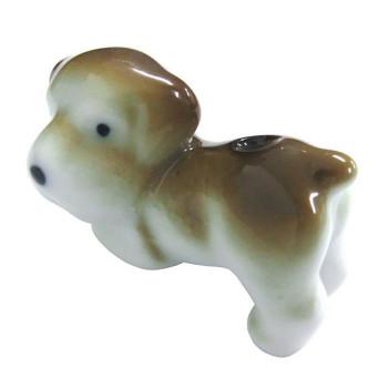 かわいい動物たちの形をかたどった香立 クーポンあり 薫寿堂 有田焼 日本産 3024 いぬ 大幅にプライスダウン 動物香立 犬
