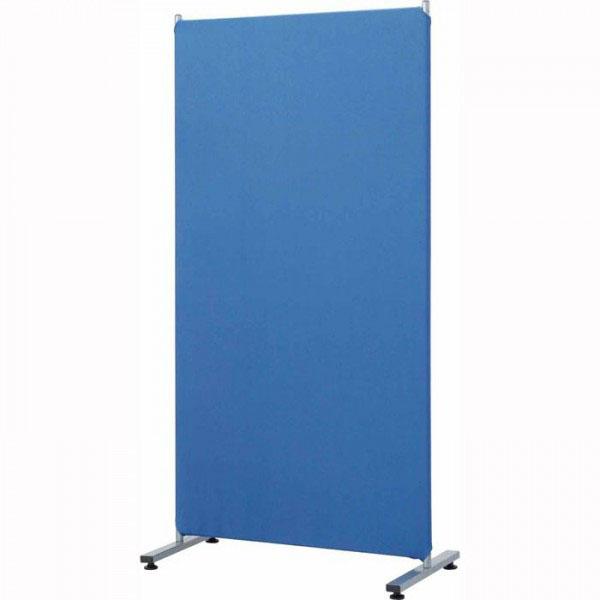 【クーポン有】【送料無料】ナカバヤシ 簡易パーティション クロス張り (B)ブルー PTS-1680/汎用性にすぐれた高さ160cm。