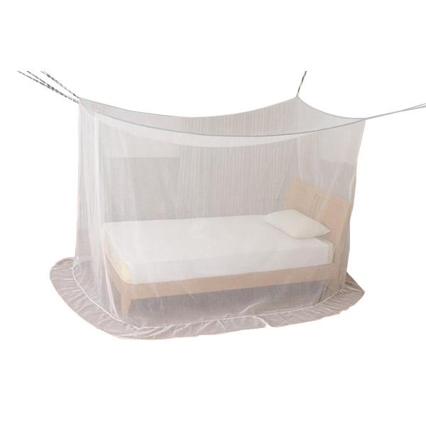 【送料無料】新越前蚊帳 シングルベッド用(洋室1人用) EKBS-01 冷房の風を和らげ快適な朝を迎えるアイテム。
