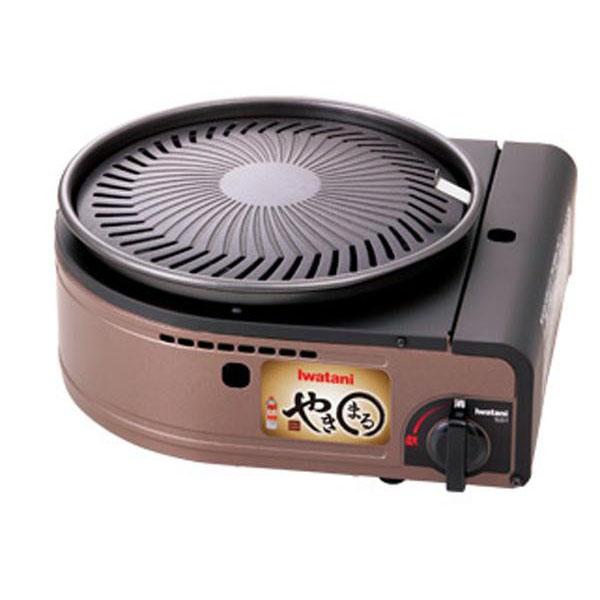 【クーポンあり】【送料無料】イワタニ カセットガス スモークレス焼肉グリル「やきまる」 CB-SLG-1