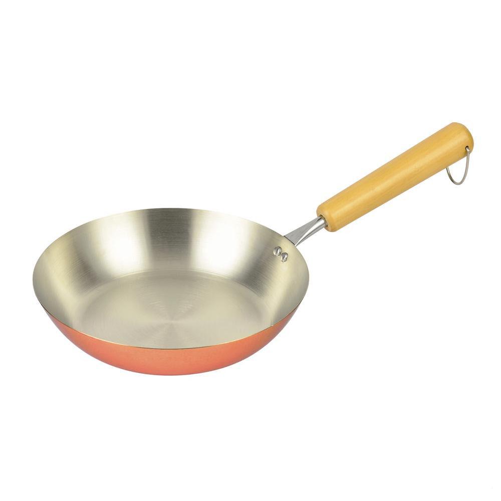 【クーポン有】【送料無料】パール金属 銅職人 フライパン20cm HB-2793/プロも愛用する銅の良さ。