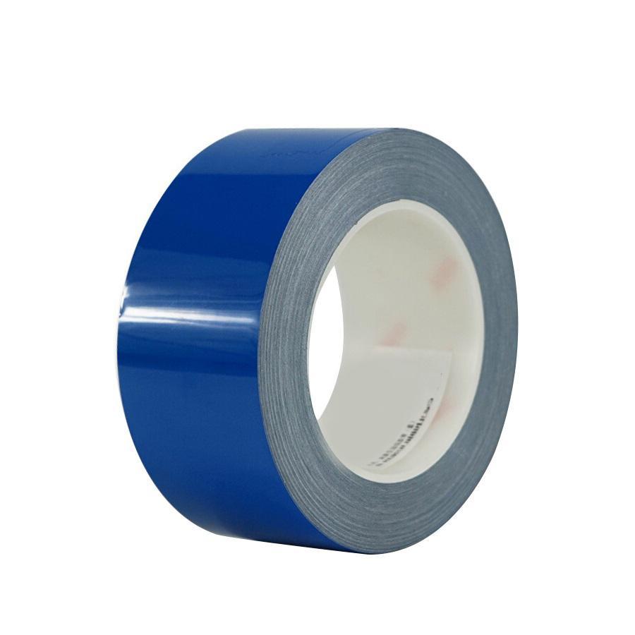 耐摩耗ラインテープ 青 50mm x22m 15648 表示に便利なラインテープ!