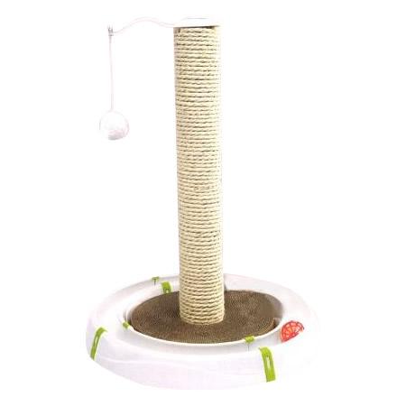 【クーポンあり】【送料無料】ferplast(ファープラスト) 猫用爪とぎおもちゃ MAGIC TOWER(マジックタワー) 85100600 爪とぎが付いた愛猫が夢中になるおもちゃ!!