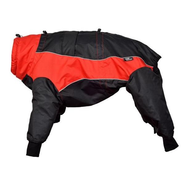 【クーポンあり】【送料無料】正規輸入品 Euro Dog Designs (ユーロ・ドッグ・デザイン) ダコタスノースーツ レッド 60M・8009 防寒に優れた高性能ウェア☆