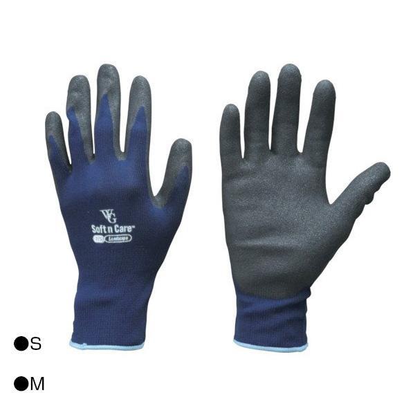 【クーポンあり】東和コーポレーション(TOWA) 背抜き手袋 ウィズガーデンランドスケープ ネイビー 12双 596 通気性に優れた背抜きコーティング