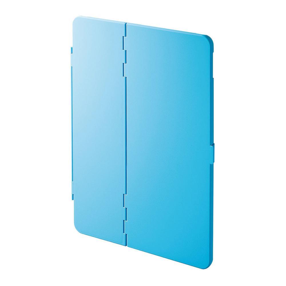 【クーポンあり】サンワサプライ iPad Air 2019 ハードケース(スタンドタイプ・ブルー) PDA-IPAD1504BL スタンド機能付きハードケースです。