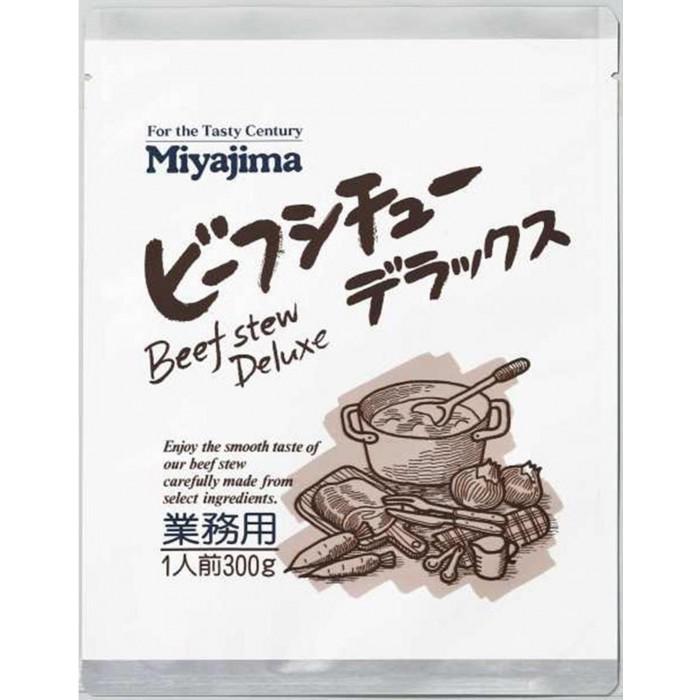 【クーポンあり】【送料無料】宮島醤油 ビーフシチュー デラックス 300g×30袋 505010