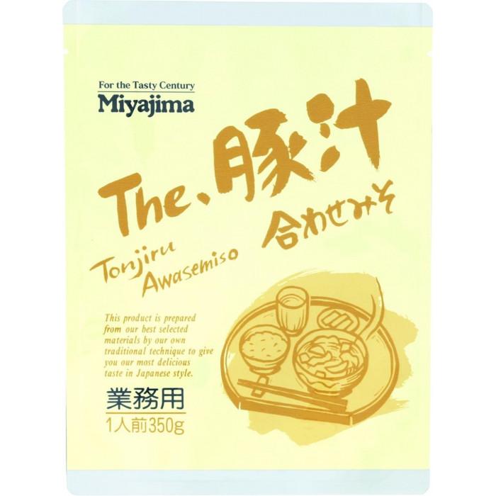 【クーポンあり】【送料無料】宮島醤油 The豚汁合わせみそ 350g×30袋 508040