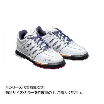 【送料無料】ボウリングシューズ コアドロEVO(エボリューション) ホワイト/パープル 22.5cm HS-3500
