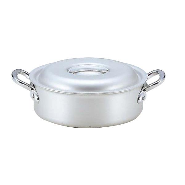 【送料無料】3159224 業務用マイスターアルミ外輪鍋24cm 表面はアルマイト仕上げ、きれいさ長持ち。