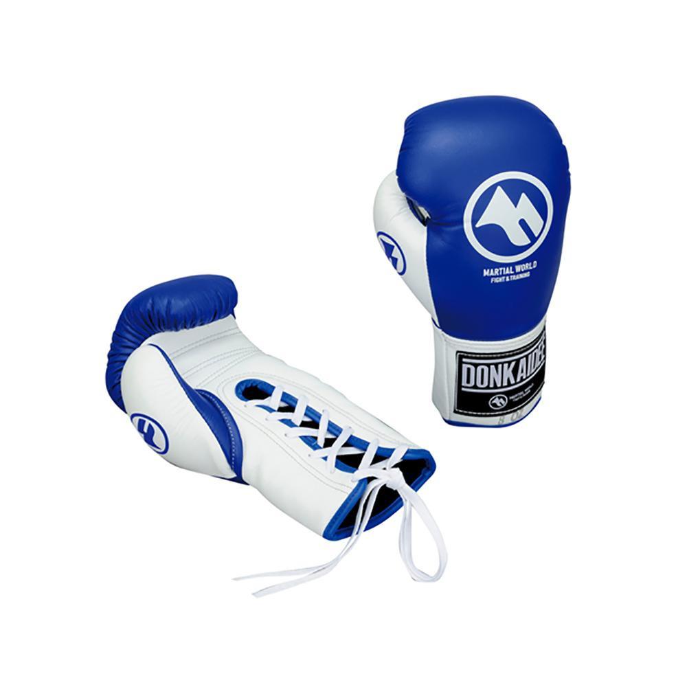 【クーポンあり】【送料無料】DONKAIDEE ドークカイディー 6oz 青 紐タイプ BGDK1-06-BU 拳をしっかりと守る!