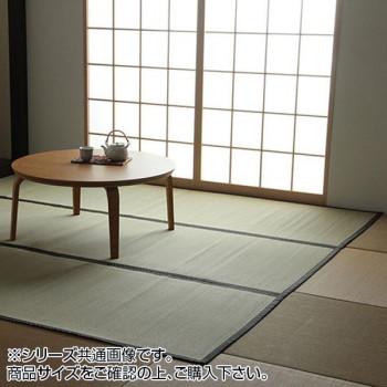 【クーポンあり】【送料無料】い草上敷きカーペット 双目織 江戸間6畳(約261×352cm) 1101836