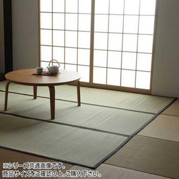 【クーポンあり】【送料無料】い草上敷きカーペット 双目織 本間3畳(約191×286cm) 1101883