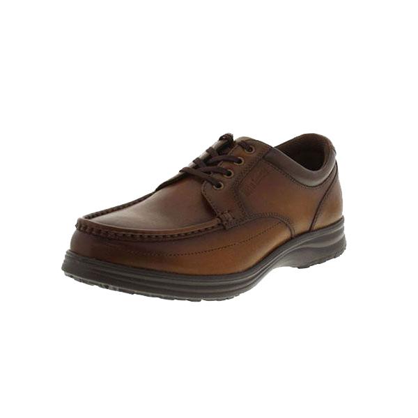 【送料無料】アシックス商事 紳士メンズ コンフォートデイリーウォーキングシューズ Hite Luck(ハイテラック) IL-130 ブラウン 革靴 カジュアル 紐靴 本革 紳士靴 ウォーキング 幅広 3E