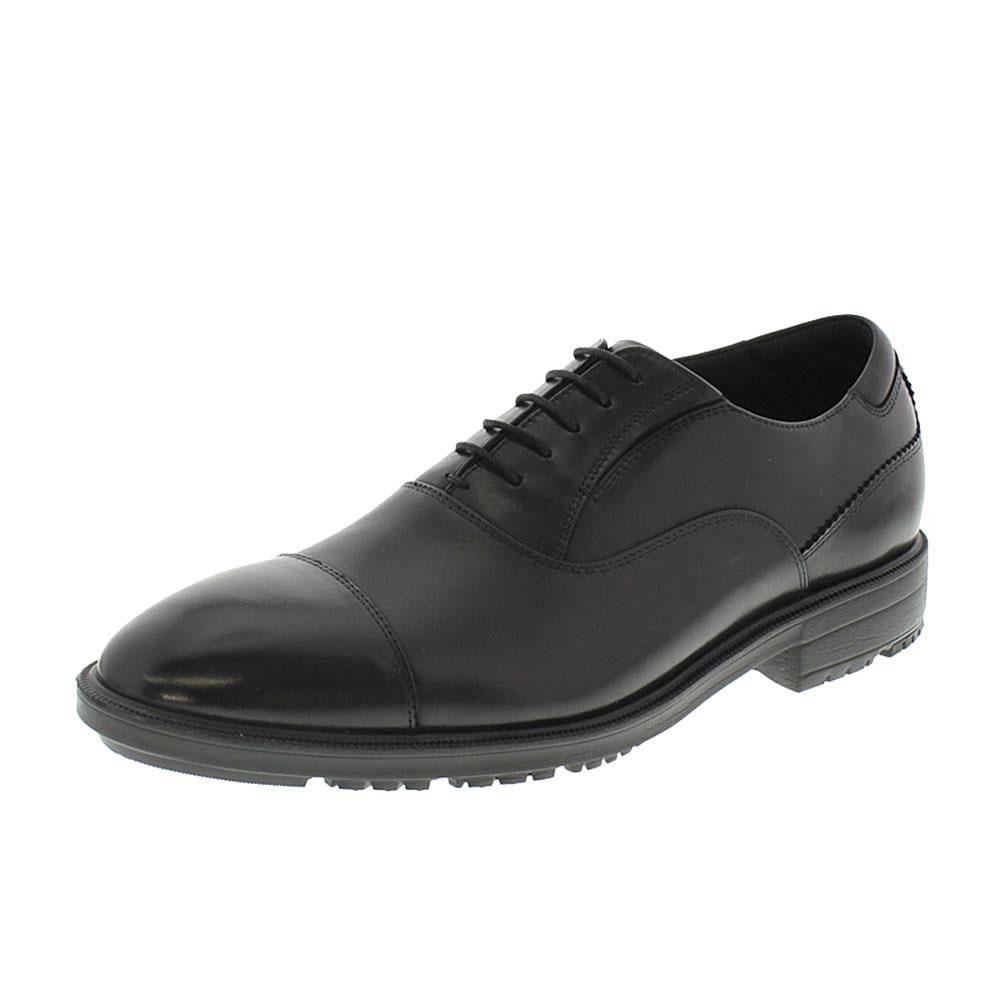 【クーポンあり】【送料無料】アシックス商事 ビジネスシューズ texcy luxe テクシーリュクス TU-7783 ブラック 営業マン 通勤 消臭 クッション性 紐靴 抗菌 黒 革靴 履きやすい スニーカー 本革 フィット 歩きやすい