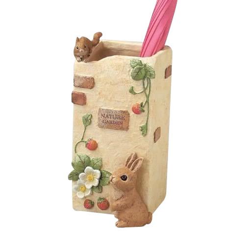 【送料無料】Nature Garden 傘立て(ネイチャー) SCZ-1429-950 可愛いウサギの傘立て。
