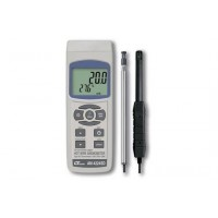 【クーポンあり】【送料無料】SDデータロガデジタル風速・風量計 AM-4224SD 1台で風速・風量・温度・湿度・露点の測定が可能!