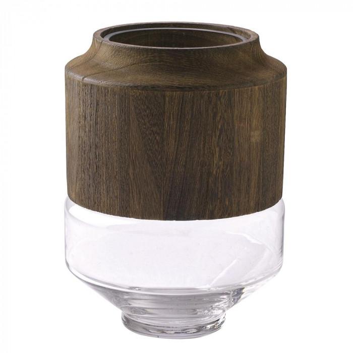 <title>木のぬくもりを感じるガラスベース SPICE BOLD フラワーベース DGGZ1010 価格</title>