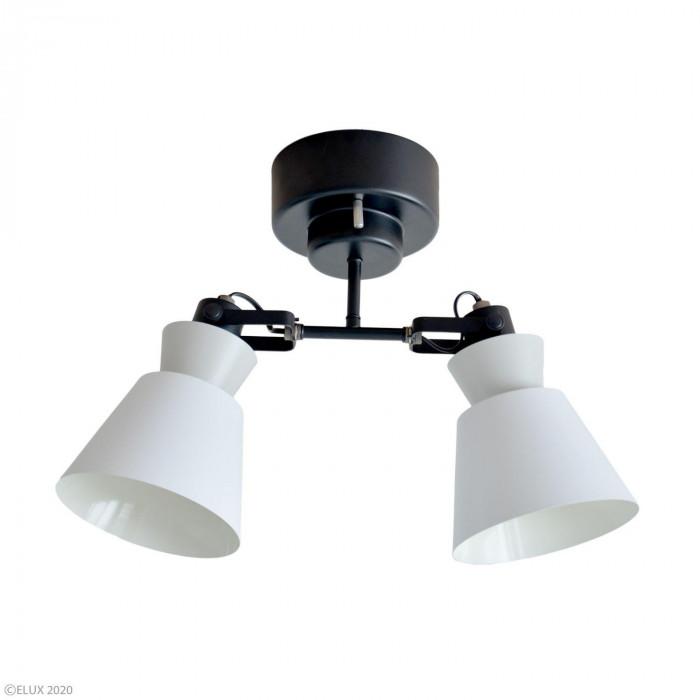 【クーポンあり】【送料無料】ELUX(エルックス) LARKS(ラークス) 2灯シーリングスポットライト ホワイト LC10976-WH