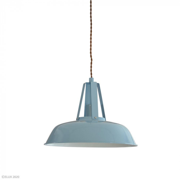【クーポンあり】【送料無料】ELUX(エルックス) COMMY-1(コミー1) 1灯ペンダントライト ブルー LC10936-BL