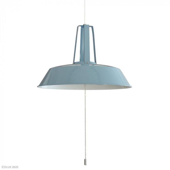 【クーポンあり】【送料無料】ELUX(エルックス) COMMY-3(コミー3) 3灯ペンダントライト ブルー LC10937-BL