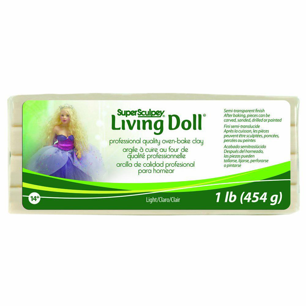 人形作りをする方必見 予約販売品 クーポンあり スーパースカルピー リビングドール 限定価格セール 454g P39050003 ライト