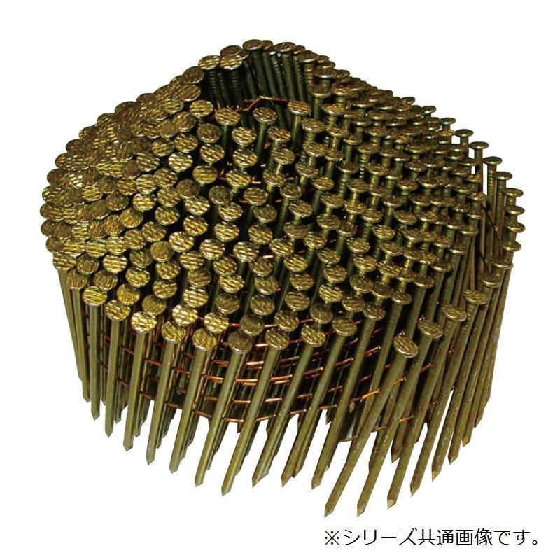 【送料無料】斜め釘 布目頭 2.1×38mm 400本×10巻×4箱 WN21381 木下地用のワイヤー連結釘です。