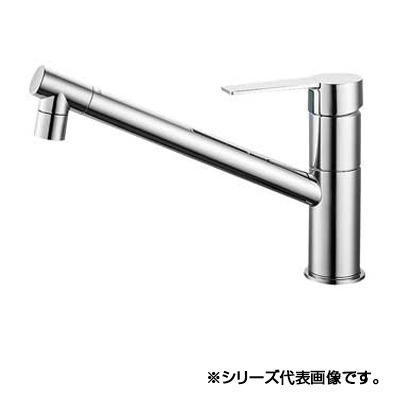 【クーポンあり】【送料無料】三栄 SANEI column シングルワンホール混合栓 K875JDVZ-1-13 吐水、止水が簡単に行えます。