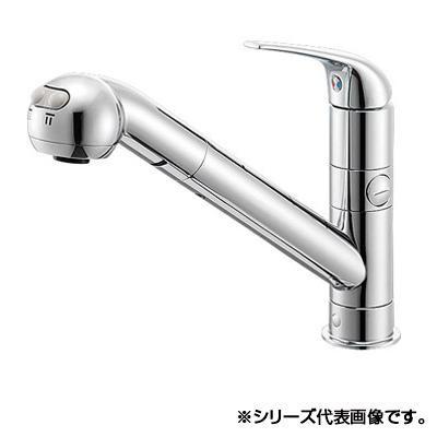 【送料無料】三栄 SANEI シングルワンホールスプレー分岐混合栓 寒冷地用 K87000BTJK-13