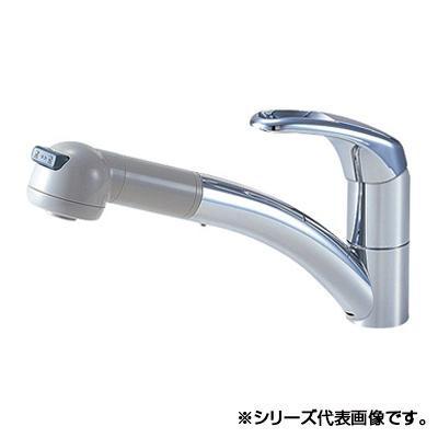 【クーポンあり】【送料無料】三栄 SANEI Modello シングルワンホールスプレー混合栓 寒冷地用 K8760JK-13