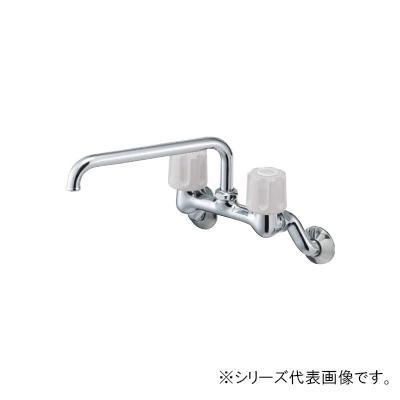 【クーポンあり】【送料無料】三栄 SANEI U-MIX ツーバルブ混合栓 寒冷地用 K211K-LH-13
