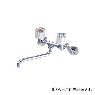 【クーポンあり】【送料無料】三栄 SANEI ツーバルブ混合栓 寒冷地用 CK111K-13