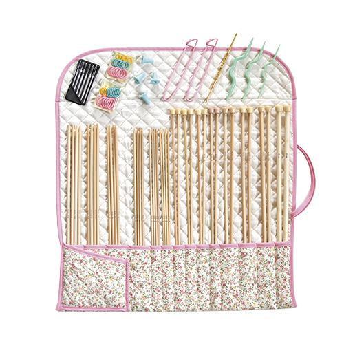 【クーポンあり】【送料無料】ハマナカ アミアミ棒針ハンディセット AY102 H250-802 道具 毛糸 収納 編み物 持運び 手芸品 編み針 便利