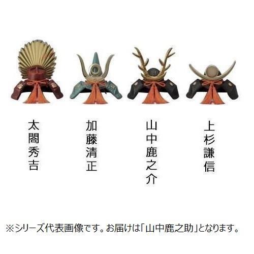【クーポンあり】高岡銅器 鉄製置物 豆大兜 山中鹿之助 165-07 お祝いごとの贈答記念品として。