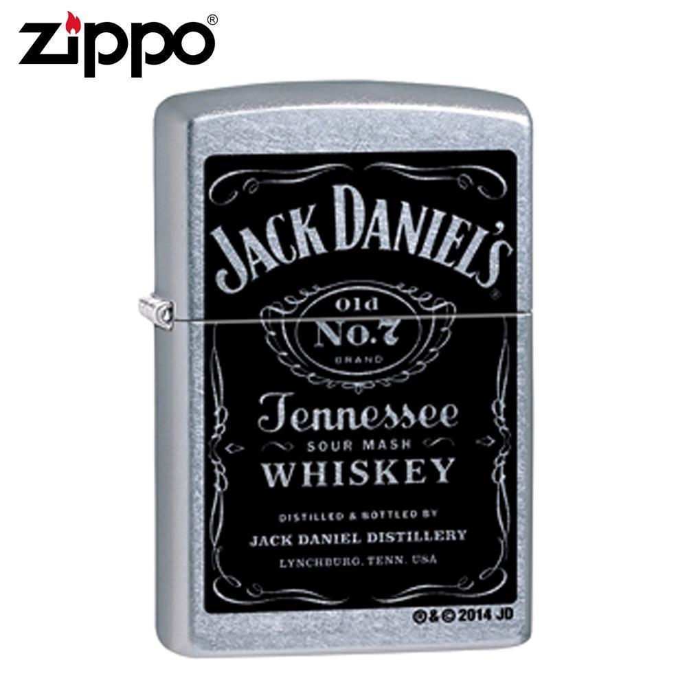 【クーポンあり】ZIPPO(ジッポー) オイルライター 24779 JACK DANIEL'S ストリートクローム JackDaniel's(ジャックダニエル)デザインのZIPPO(ジッポー)。