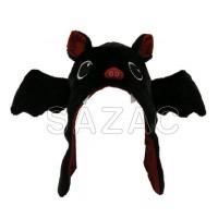 可愛らしいコウモリのキャップ☆ ◆在庫限り◆ 激安価格と即納で通信販売 クーポンあり サザック コウモリ着ぐるみCAP 2799