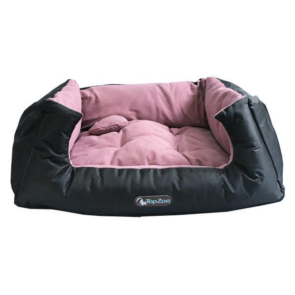 【クーポンあり】【送料無料】TopZoo トップズー ドゥドゥコージ キャンバス ピンク L リバーシブルタイプのカラフルなペットベッド。