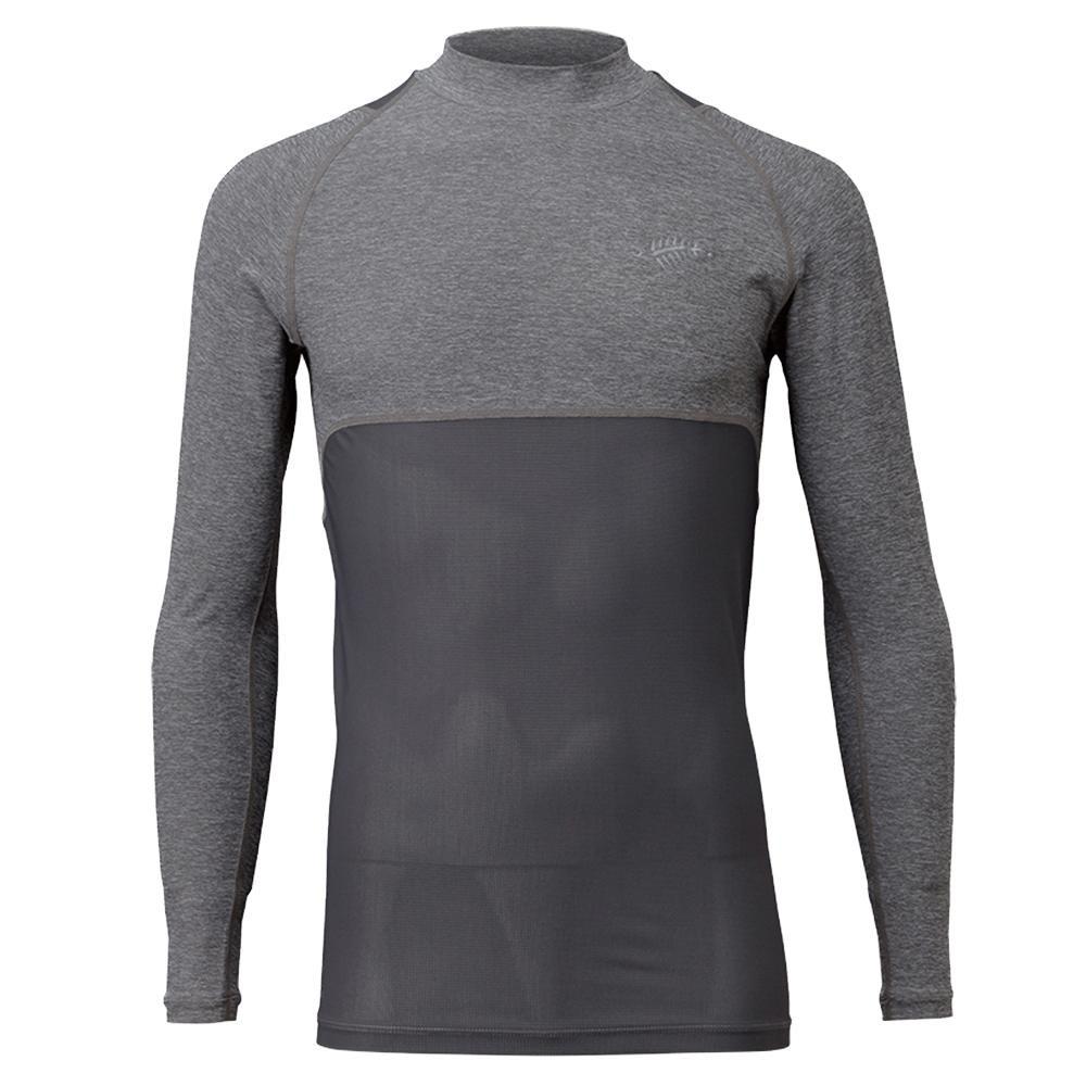 【クーポンあり】【送料無料】BOWBUWN レイヤードアンダーシャツ 杢グレー(94) Mサイズ Y1439-M-94
