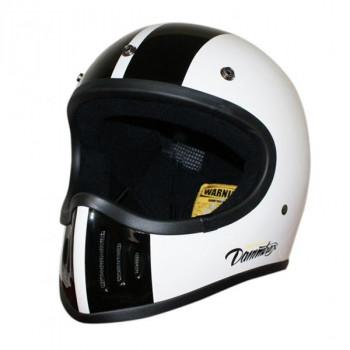 【送料無料】ダムトラックス(DAMMTRAX) BLASTER-改 コブラ ヘルメット WHITE M