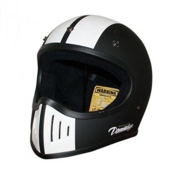 【送料無料】ダムトラックス(DAMMTRAX) BLASTER-改 コブラ ヘルメット MAT BLACK M