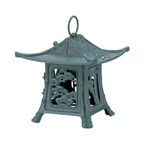 【クーポンあり】【送料無料】高岡銅器 吊燈篭 東型 172-04