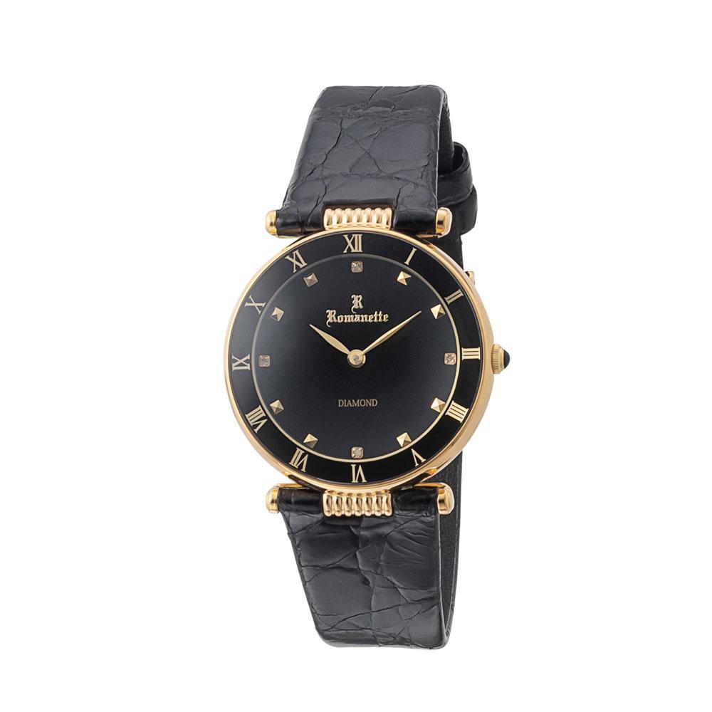 【クーポンあり】【送料無料】ROMANETTE(ロマネッティ) メンズ 腕時計 RE-3530M-01 おしゃれな腕時計です。