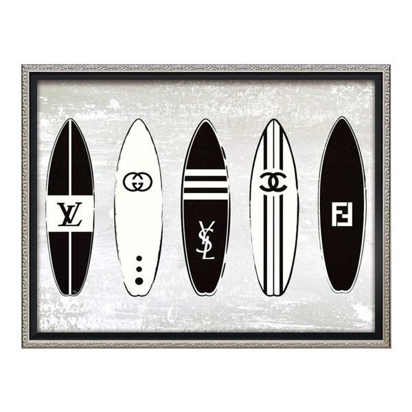 【送料無料】ユーパワー オマージュ キャンバスアート 「ブラインドサーフィン(Mサイズ)」 BC-12055