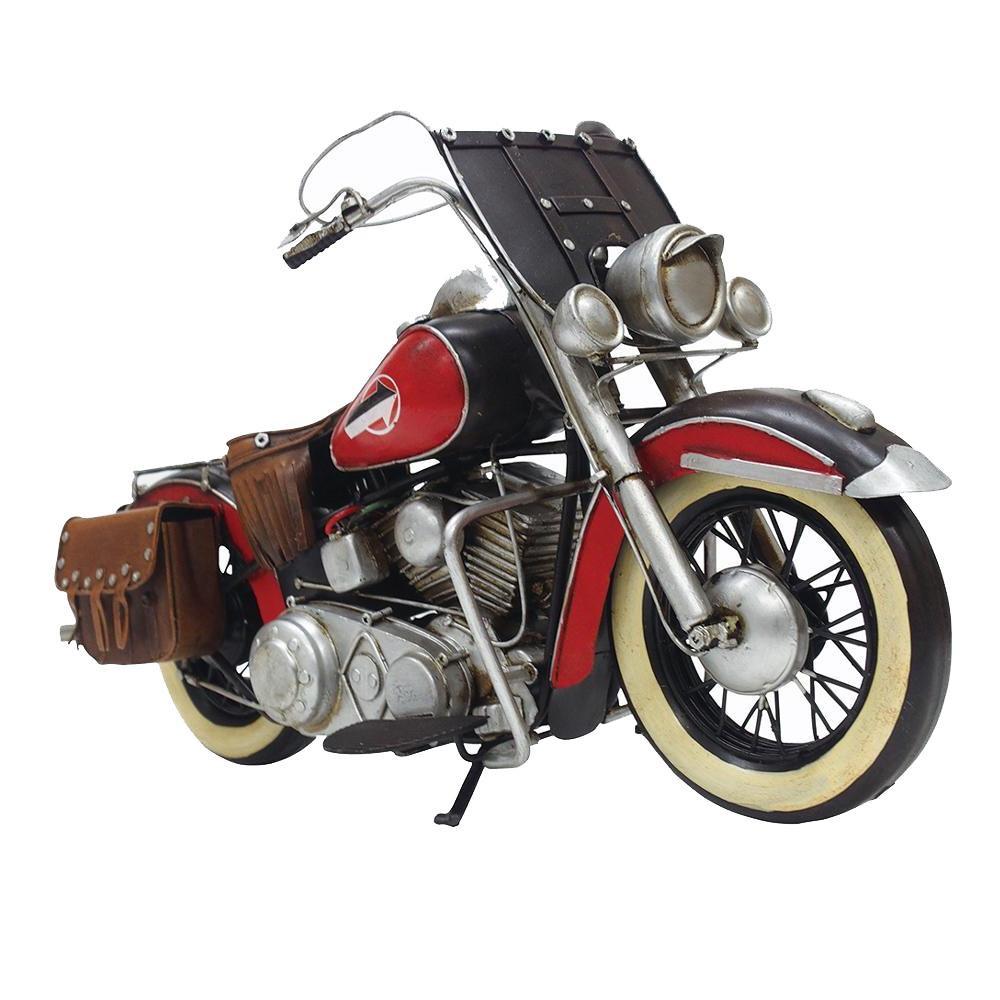 【クーポンあり】【送料無料】塩川光明堂 TIN TOYS ブリキのおもちゃ B-バイク10