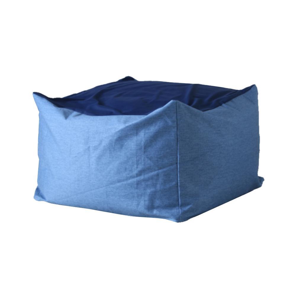 【クーポンあり】【送料無料】ワンズコンセプト 体にフィットするソファ Snooze ブルー 60×60×40cm 300865