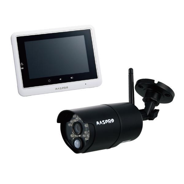 【クーポンあり】【送料無料】マスプロ電工 5インチモニター&ワイヤレスHDカメラセット WHC5M 電源つなげてスイッチオン!!配線不要でセットが簡単!!