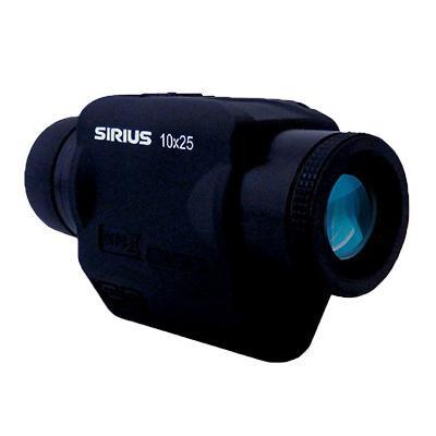 【クーポンあり】【送料無料】SIRIUS シリウス ズーム防振スコープ シリウス10×25