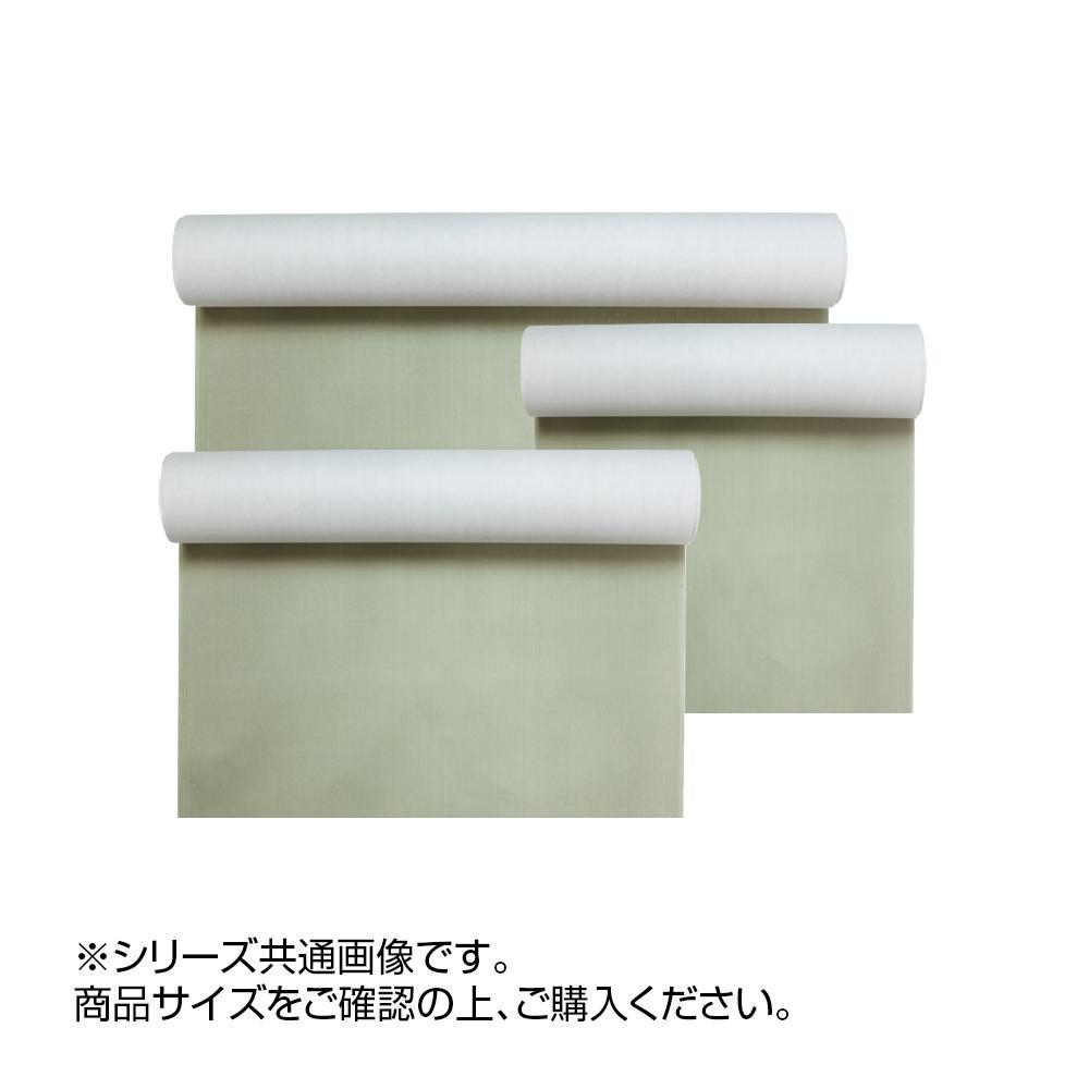 【クーポンあり】【送料無料】絹本 深緑 53×227cm CD14-3